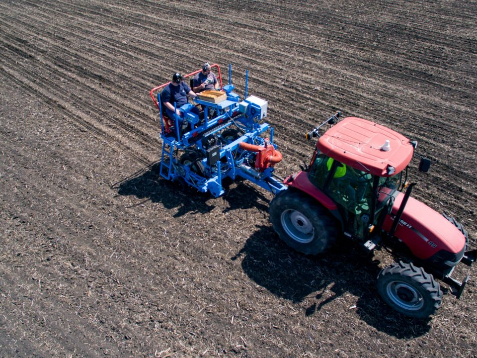 New SRES Planter for Replicated Testing