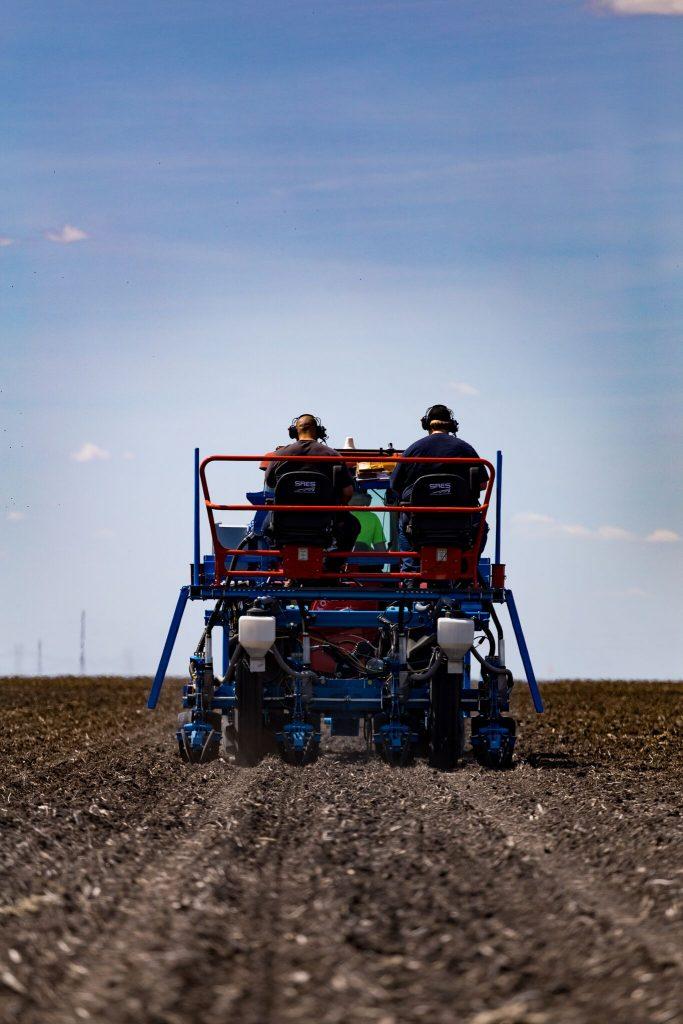 SRES Replicated Testing Planter