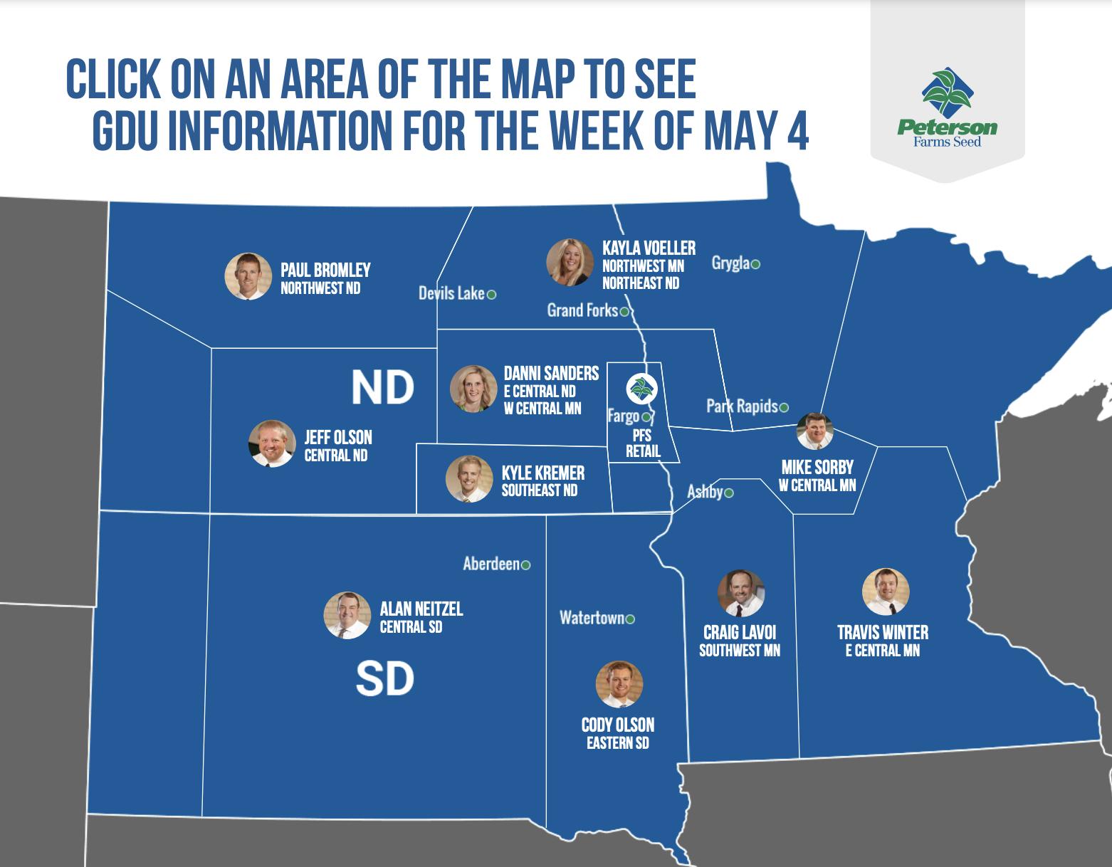 GDU Map May 4